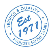 Established 1971 Quality Logo for Lambes Oil